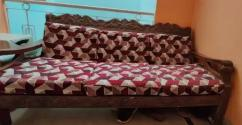 Sofa with seats in proper condition