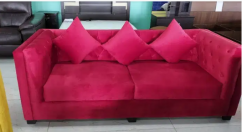 Branded Fabric Sofa Set