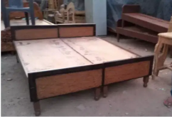 Bed without box
