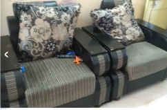 Sofa set available at Minnie bay Port Blair in good condition