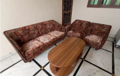 5 seater sofa set with wooden table