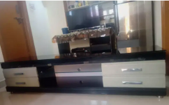 TV stand with four drawers