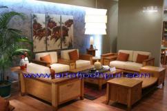 Hand crafted sofa set