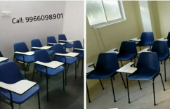 35 Study Chairs with Writing Pad