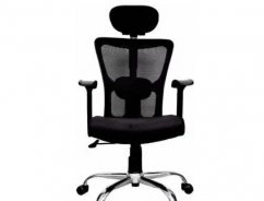 High Back Revolving Chair with Headrest