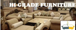 Oriental Sofa Set 7  Seater British Looks