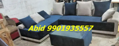 Unique top quality fabric corner sofa set 3 year warranty v 90