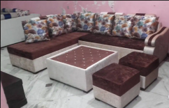 L SHAPE 7 SEATER SOFA SET