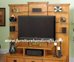Brand new solid wooden t.v unit