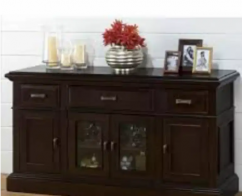 Brand new solid wooden kitchen cabinet