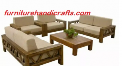 Brand new solid wooden sofa set