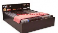 Brand new solid wooden double cot/bed