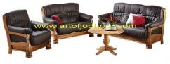 Teak wood Sofa set with Center Table