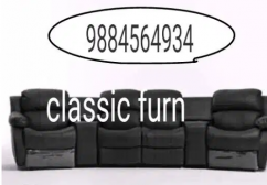trendy and comfortable  recliner sofa