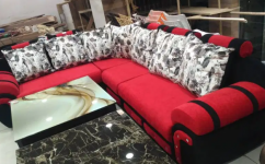 Brand new L shape sofa set in multiple variety at factory price