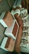 elegant l shape sofa set