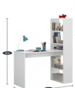 ELEGANT WHITE COLOR STUDY TABLE