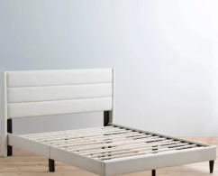 LIGHT COLOR FABRIC BED