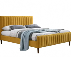 Yellow Branded DOUBLE BED