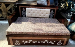 New designer sofa cum bed with box with bonded mattress