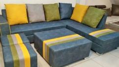 Multi colour sofa set