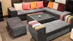 Multi colour sofa set