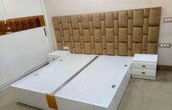 Brand new dibbi desigen King size bed with side table