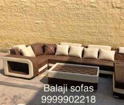 Brand new U shape sofa set with center table