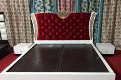 Brand new king size bes with side table