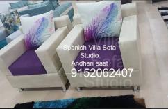 unique design   sofa set for five people.