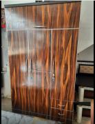 new 3 door wooden wardrobe