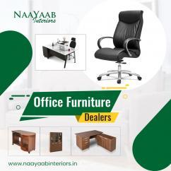 Buy Office Furniture - Naayaab Interiors
