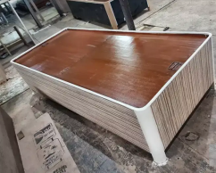 New pure plywood single bed