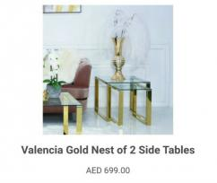 Buy a GORGEOUS sofa table for each space from Vanity Living