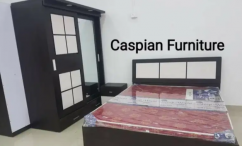 New bedroom set in sliding door wardrobe