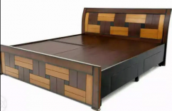 New wooden 5x6 storage double cot bed