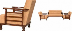 Brand new wooden  sofa