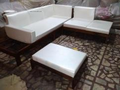 Brand New Rosewood Sofa Set (6 seater)