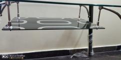 Royal Oak 4 seater Milan dining table set new
