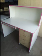 Computer table available with draw model