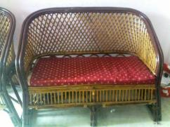 Cane Furniture 5 seater set up