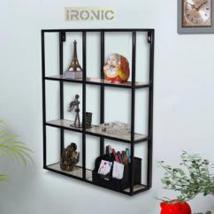 Floating Wall Shelf 6 Shelves for Stores to Decor Home