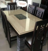 FANCY HIGH QUALITY MDF Material dining set