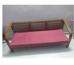 5 seater solid wooden sofa set