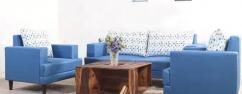 PREMIUM Sofa Set in Premium Fabric