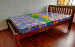 New double cot with matress