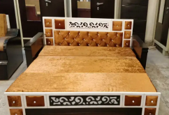 Sofa cum bed (Wooden sofa cum bed design)