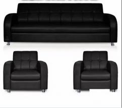 5 seat adorable looking sofa set