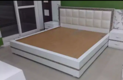 Luci wooden Box bed