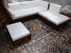 Rosewood Sofa Set (6 seater)